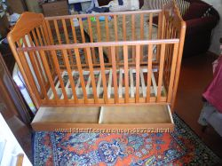Кроватка Baby Italia2матрасаодеяло, подушка, защита, балдахин, постельное