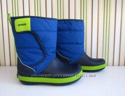 Зимние сапоги Crocs Lodge Point Snow Boots