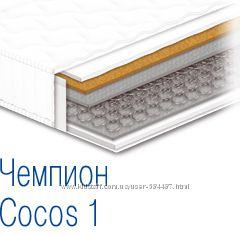 Ортопедический матрас с кокосовой койрой Чемпион Cocos - 1