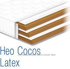 Беспружинный, ортопедический матрас на латексе и кокосе НЕО Cocos Latex