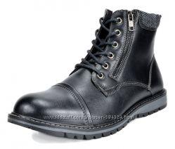 Bruno Marc байкерские ботинки на меху размер UA 43  US 10