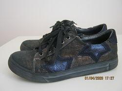 Кожаные туфли Happy Walk, Турция р.33 стелька 22 см