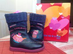 Абсолютно новые сапоги для девочки Agatha Ruiz de la Prada