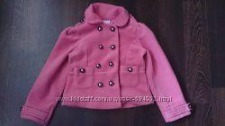 пальто флисовое Next  для девочки 4 года
