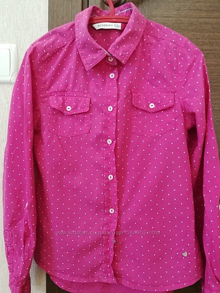 Рубашка бу для девочки Reserved