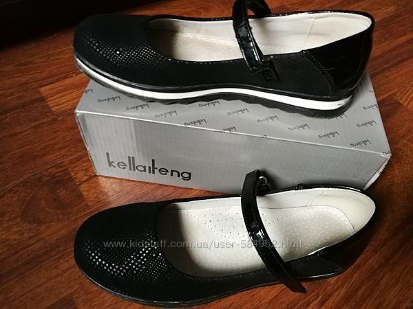 Туфли для девочки kellaifeng б/у  36 р