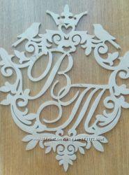 Деревянные гербы рамки для фотозоны