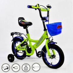 Детский велосипед Corso G 14 разные