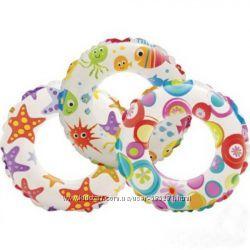 детский надувной круг 3 вида