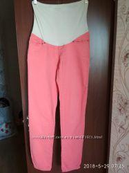 Коралловые джинсы для беременных