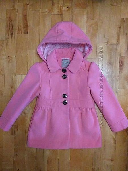 Нежно розовое пальто Next.