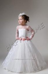Пишне фатінове дитяче плаття