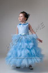 Нарядне дитяче плаття хмаринка