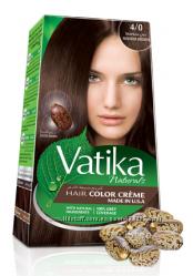 Краска для волос Средний коричневый Vatika Naturals Дабур