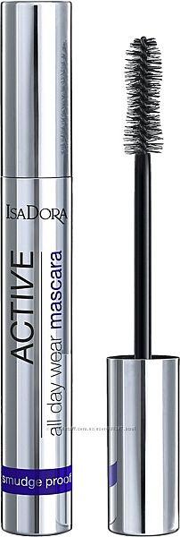 Тушь для ресниц IsaDora Active All Day Wear Mascara 20 Deep Black