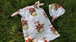 Летний сарафан, платье для девочки. Хлопок. Яркие расцветки.