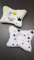 Подушка-Бабочка для новорожденных, ортопедическая. В наличии.