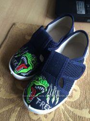 Текстильная детская обувь Валди Waldi