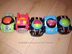 Машинки погремушки для деток Fisher-price