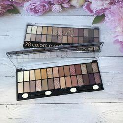 Тени для век DoDo Girl Eyeshadow palette  28 оттенков