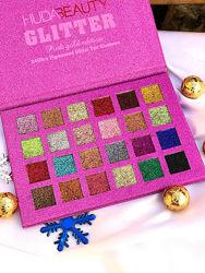 Палетка глиттеров Huda Beauty Summer Pink gold edition, 24 оттенка