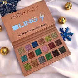 Палетка глиттеров Huda Beauty Bling, 18 оттенков