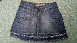 Юбка джинсовая 29 р. идеальное состояние