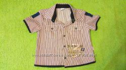 Рубашка мальчику на 3-5 лет 104-116 рост сост. новой Турция