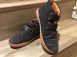 Замшевые ботинки р. 34