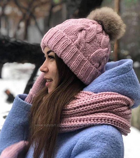 Красивые шапочки для стильных девушек ручной работы