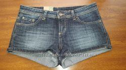 Продам новые джинсовые шорты Benetton