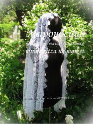 Венчальная накидка, палантин, платок