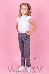 Брючки для девочки на рост 116-140, 2 цвета