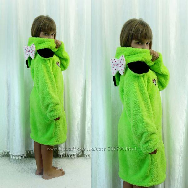 Детский халат Мики с сапожками