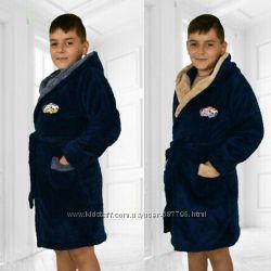 Детский халат для маленьких мужчин