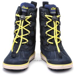Clarks Syd Up Gore Tex  зимние  сапоги размер24, 25, 26, 26. 5, 27,