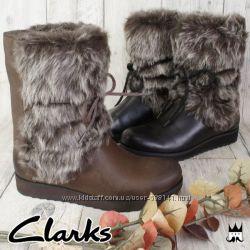 Clarks Minx Jeanie зимние сапоги раз. 36, 37, 37. 5, 38, 38. 5, 39, 41, 41.