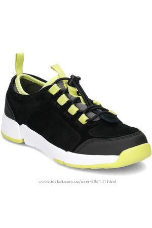 Туфли  замшевые Clarks  Tri Quest Inf размер 25. 5, 26, 27, 28, 29, 32