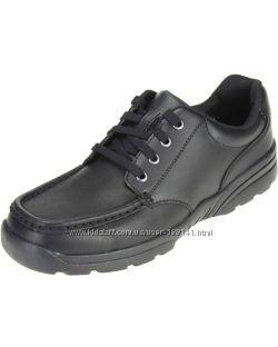 Clarks Bootleg Bermon Lane кожаные туфли размер 37. 5