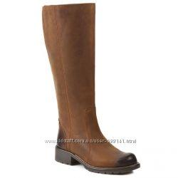 Clarks Orinoco Eave кожаные сапоги размер 35-37. 5