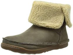 Clarks Nettle Leaf кожаные сапоги размер 35. 5-36