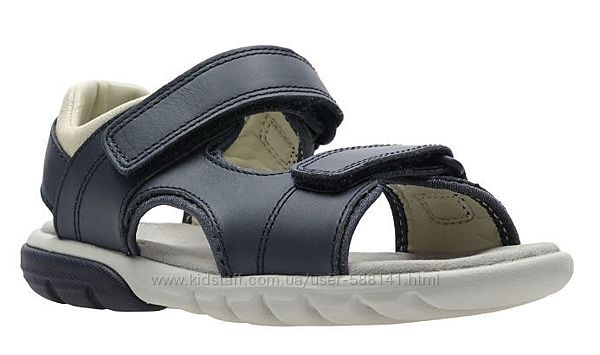 Clarks Rocco Wave K кожаные сандали
