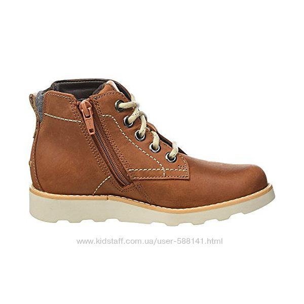 Clarks  Dexy Top кожаные ботинки
