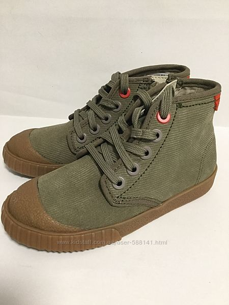 Clarks  Cyrus Rise замшевые ботинки
