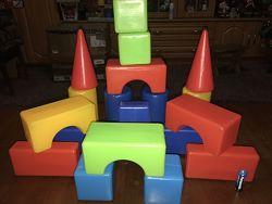 Игрушки для малышей конструктор с большими деталями