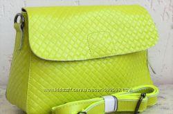 Лукреция - модная сумка из натуральной кожи.