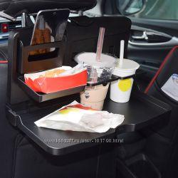Автомобильный складной поднос для еды и напитков