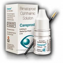 Careprost-Стимулятор Роста Ресниц. Кисточка в Подарок. Гарантия. Есть Опт