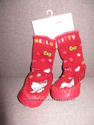 Мокасины Hello Kitty на модницу 22-23 р-ра