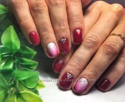 Наращивание и коррекция ногтей ГЕЛЕМ